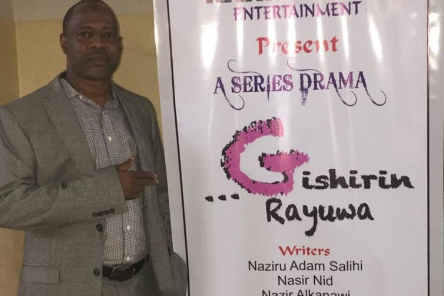 "The Kano Audition of our Series Drama "" …Gishirin Rayuwa"" has been successful."